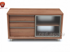 红苹果 简约现代宜家风格地柜
