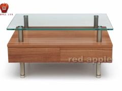 红苹果 简约时尚的客厅长几