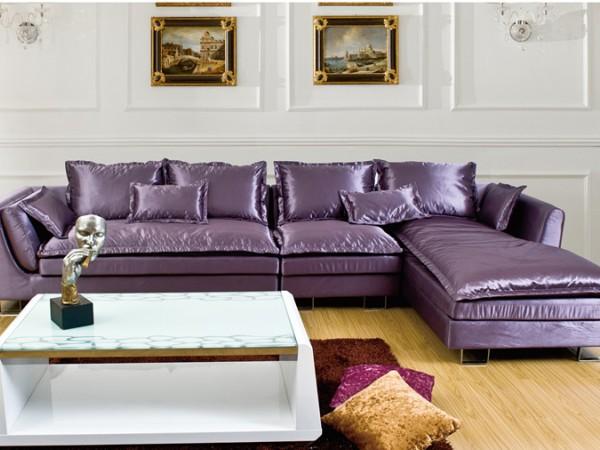 联乐布艺沙发新古典布艺沙发 可定制 WB2615