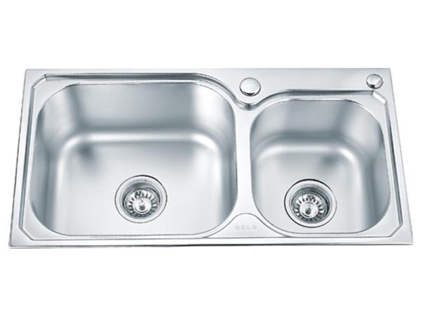 金牌RF1612 不锈钢 盥洗盆 洗菜盆 水槽 菜盆
