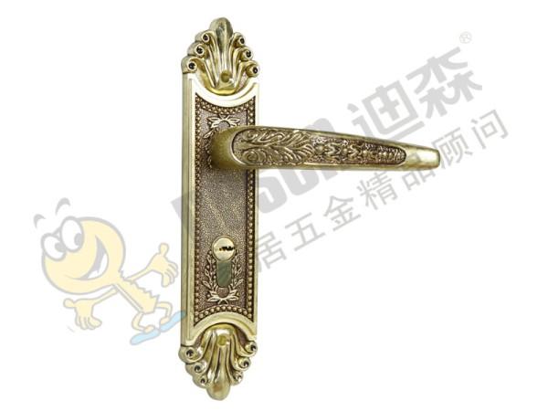 迪森五金 促销欧式锌合金锁具锁芯 家用室内实木房门锁执手机械