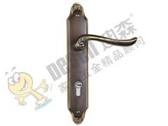迪森家居五金 纯铜房门锁具锁芯 家用标准房门锁室内欧式 机械
