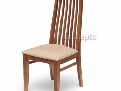 红苹果 简约时尚的客厅皮座面餐椅