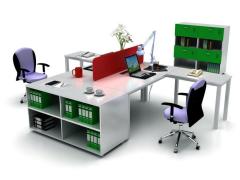 武汉伟豪GZ-OA钢木办公桌系列