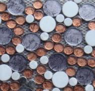 SAC系列金箔 银不锈钢大小圆--可议价