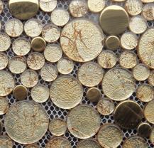 SAC系列金箔 金不锈钢大小圆--可议价