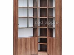 红苹果 宁静优雅转角书柜