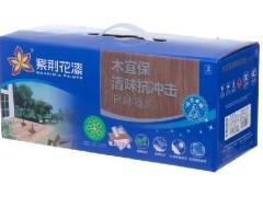 紫荆花漆木宜保清味抗冲击PU木器清白面漆5kg半哑木器漆
