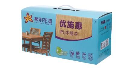 紫荆花优施惠PU木器漆清白底漆9kg
