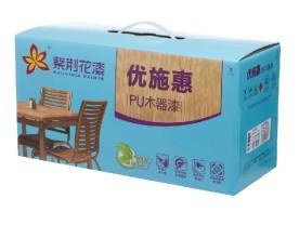 紫荊花優施惠PU木器白清面漆 9kg