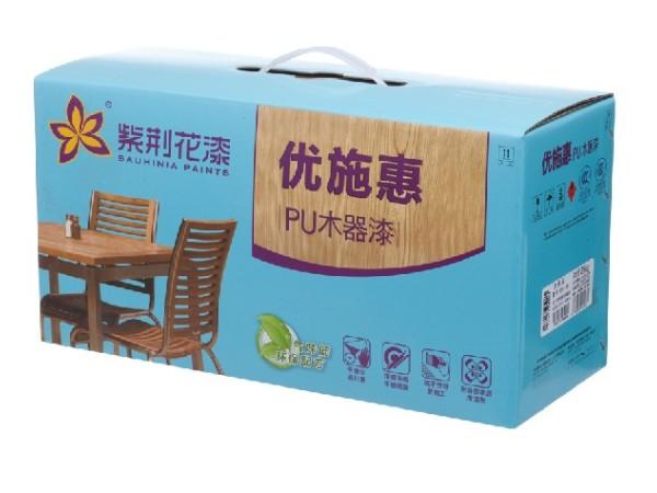 紫荆花优施惠PU木器白清面漆 9kg