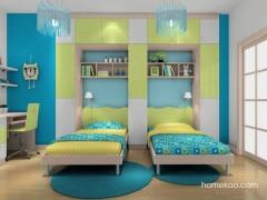 尚品宅配 女孩儿童房家具B17627定制 定做整体卧室