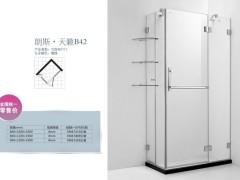 朗斯工程淋浴房天籁系列B42沈阳贴防爆淋浴屏