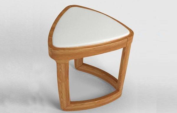 光明家具福橡金缘系列梳妆凳118-131101-42
