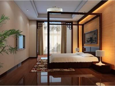 中式古典-220平米三居室装修样板间