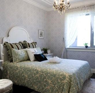 美式主卧室装修图片-搜房网装修效果图图片