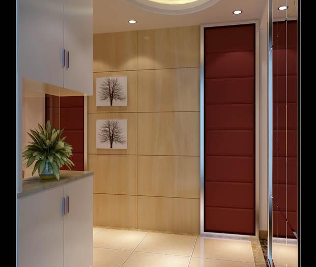 现代简约-94平米二居室-装修样板间
