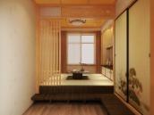 榻榻米和室茶室