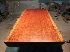 巴花大板餐桌实木办公桌主管桌大班台客厅家具茶几餐桌时尚电脑桌