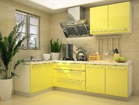 欧派整体橱柜定制定做 L形厨柜厨房订做 英格兰乡村 定金