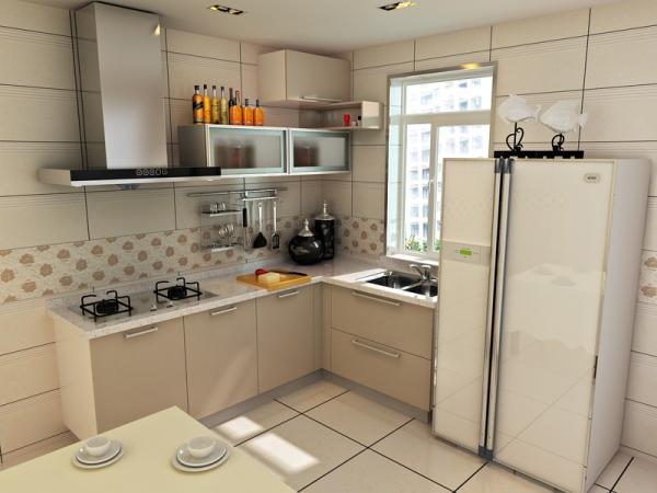 欧派定制定做整体橱柜套餐 厨柜厨房石英石台面 一米阳光