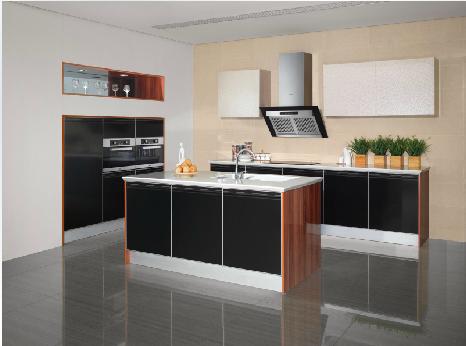 欧派整体橱柜定制定做 一字形厨柜厨房订做 魅族生活 定金