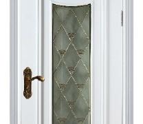 丽特ALT-002白色混油套装门