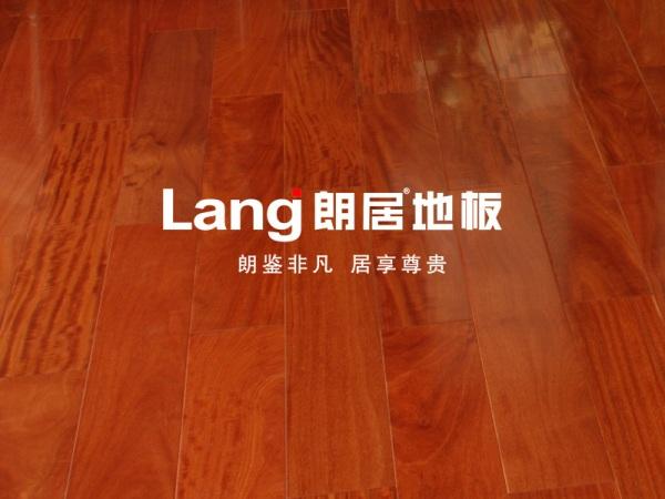 朗居地板 红檀香 香脂木豆 高档实木地板 名贵木材