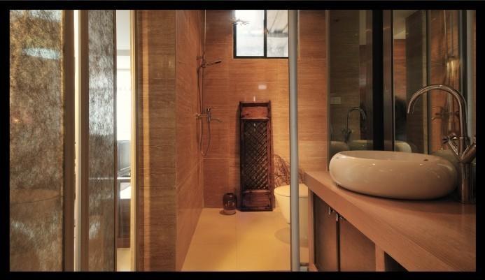 中式古典-192平米三居室-装修样板间