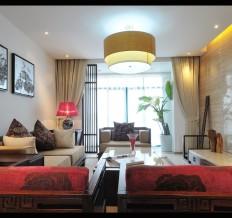 中建·红杉溪谷-中式古典-三居室