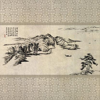 马可波罗文化陶瓷・山清水秀