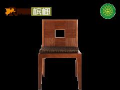 荣麟槟榔 东南亚 新亚洲 水曲柳 餐椅M007