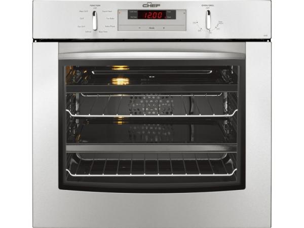 CHEF厨师60cm进口电烤箱POR668SCC