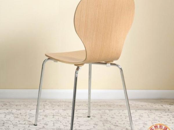 百美家居 椅子 快餐椅 美式时尚餐椅 现代简约餐椅