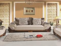 宜百伴YRM-A232广东外贸皮布沙发-工厂直供家具批发代理