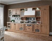 【欧派橱柜】耶莲娜 一字形简约现代时尚厨柜厨房 定制定做图片