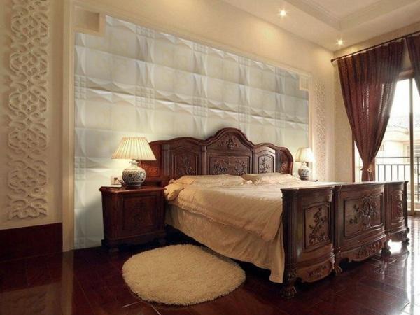 帝豪新古典中式立体中国结装饰背景墙纯色书房墙砖绿色环保文化石