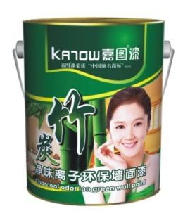 嘉图竹炭净味离子环保墙面漆