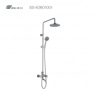 鹰卫浴 63系列单把一体式浴缸淋浴柱EB-63601001
