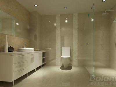 现代简约-85平米二居室装修设计