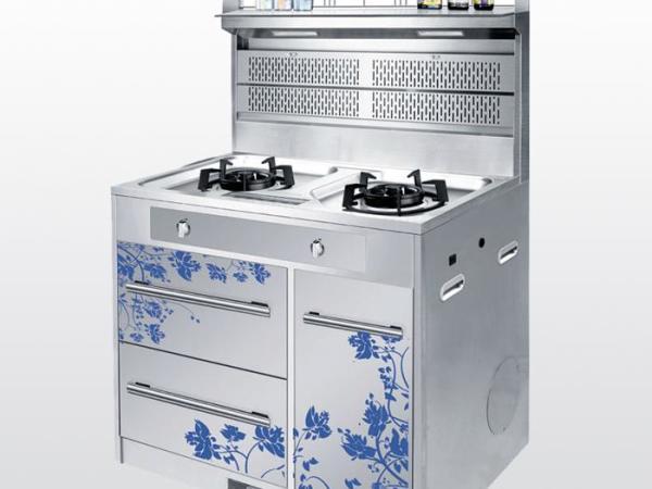 金帝集成灶 X900C-青花瓷两气