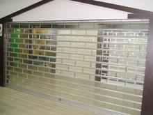 天津水晶门-水晶电动卷帘门-侧向水晶门-商场水晶卷帘门