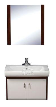 惠达卫浴HDFL027实木浴室柜(楸木柜体) 限地区送货安装