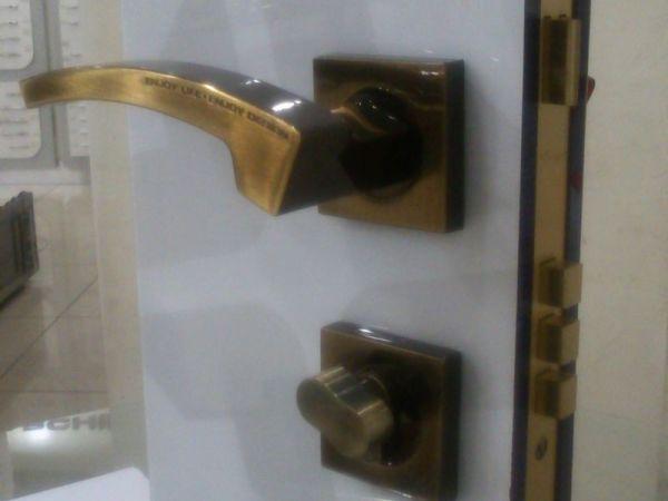雅洁AS2011-H43188-BI分体门锁