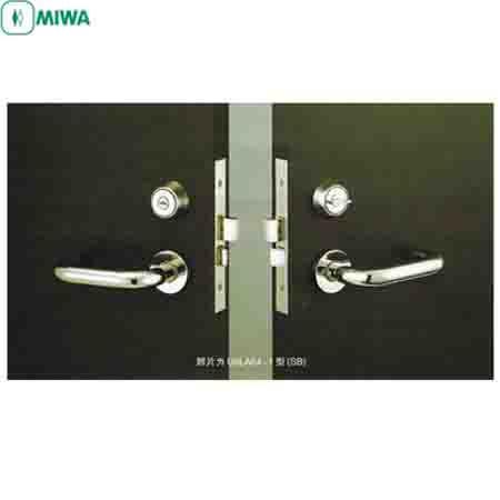日本原装进口美和MIWA门锁U9LA64-1执手锁