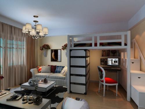 灯市口小区-现代简约-一居室
