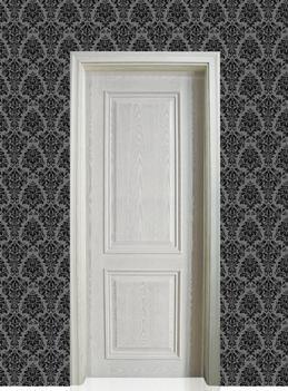白色实惠*实用复合烤漆门