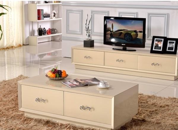 郑太 现代茶几钢化玻璃 时尚简约2012长方形烤漆茶桌家具
