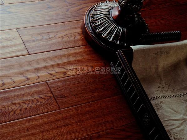 生活家地板-单层实木雅典古城