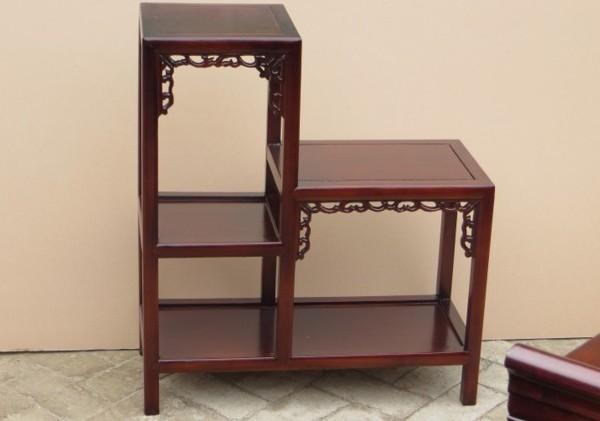 带板二连体花架子包邮特价置物桌
